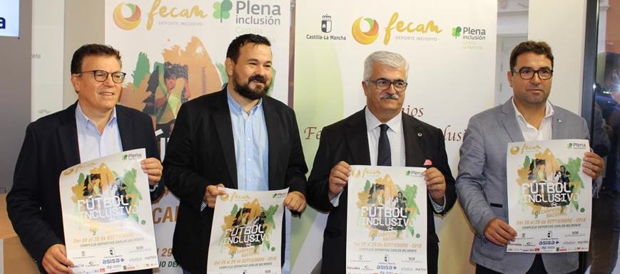 Presentación del Campeonato Nacional de Fútbol 7 Inclusivo