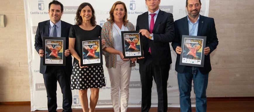 Participantes en la presentación de la Semana Europea del Deporte