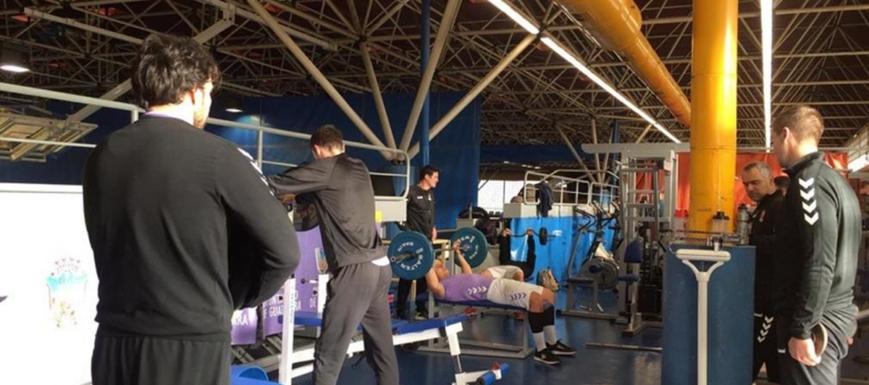 Primera sesión de entrenamiento del Liberbank Cuenca