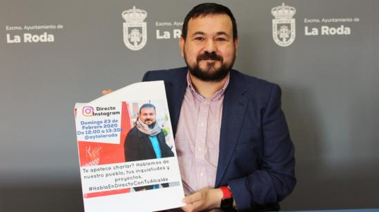 Juan Ramón Amores conectará con los jóvenes por Instagram